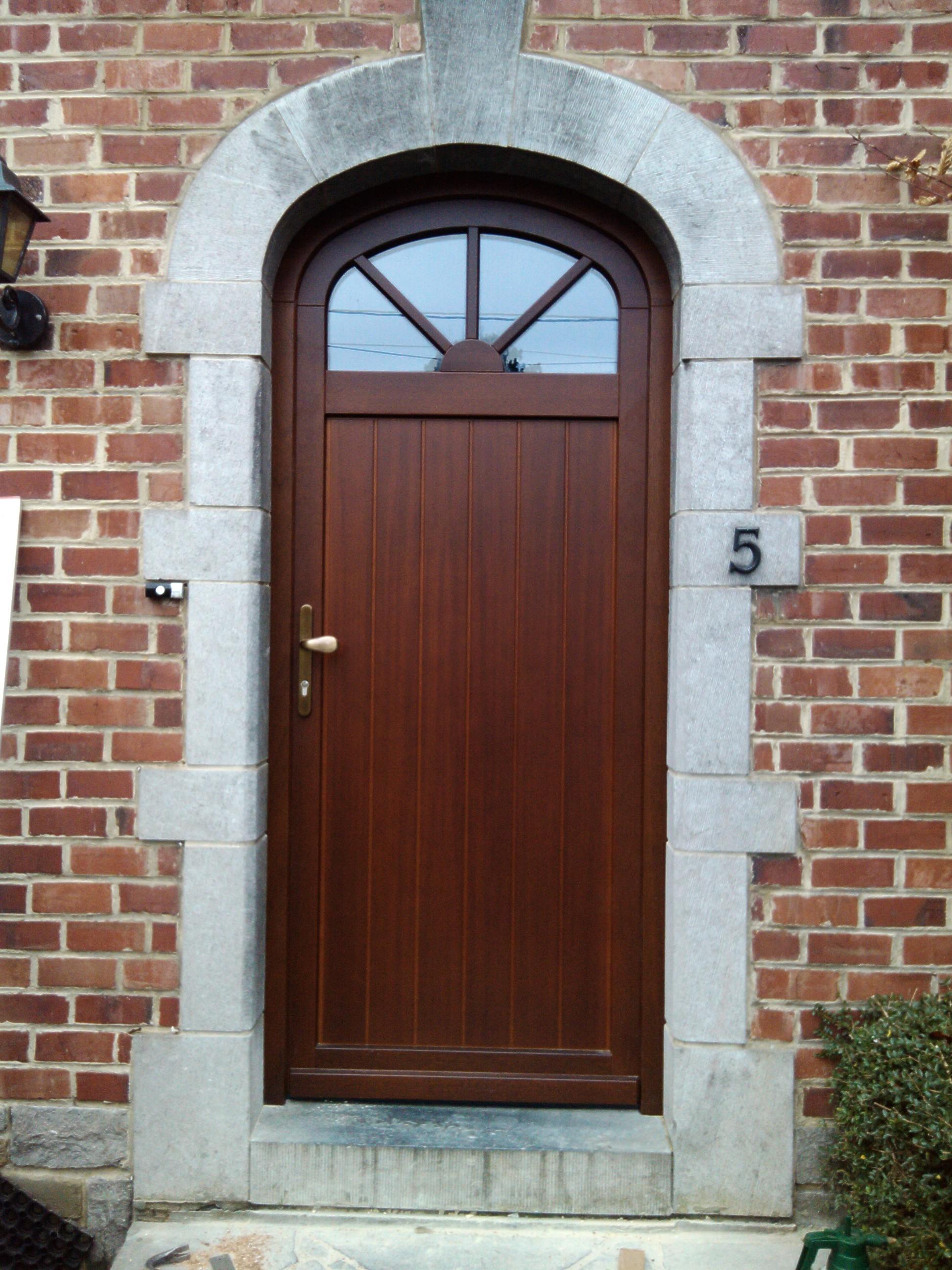Porte bois m ranti lasure ch ne rustique n896 panneau for Porte de garage originale