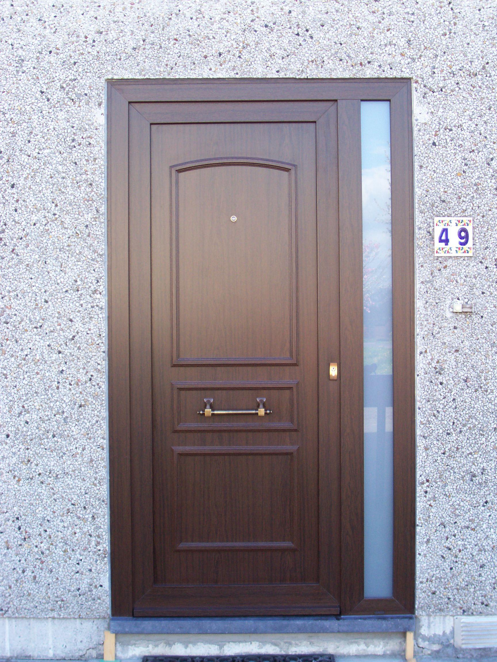 Porte pvc vermeer plein fixe sabl lat ral structur for Porte de garage originale